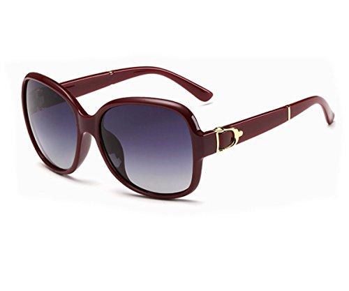 [Heartisan Retro Oversized Rimmed Style Polarized Sunglasses C3] (1970s Tennis Costume)