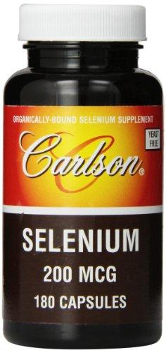 Carlson Labs Selenium 200mcg Capsules