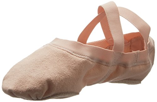 [Bloch Dance Womens Synchrony Ballet Flat, Pink, 5.5 B US] (Dance Costumes Supplies Sydney)