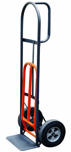 Milwaukee Hand Trucks 47515S D-Handle Truck with 10-Inch Solid Puncture Proof Tires and Nose Plate Extension (The Best Truck Tires)