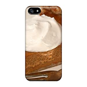New ARk30044EcZs Piece Of Pumpkin Pie Skin Cases Covers Shatterproof Cases For Iphone 5/5s