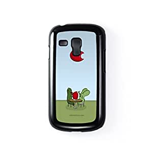 Rabtus and Cumber Tomato Black Hard Plastic Case for Samsung? Galaxy S3 Mini by Miki Mottes + FREE Crystal Clear Screen Protector