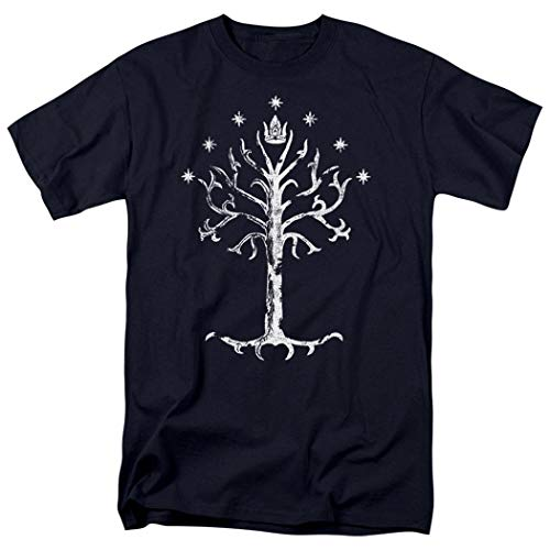 Lord of the Rings Tree of Gondor T Shirt and Exclusive Stickers (Medium) (Lord Of The Rings Tcg Card List)