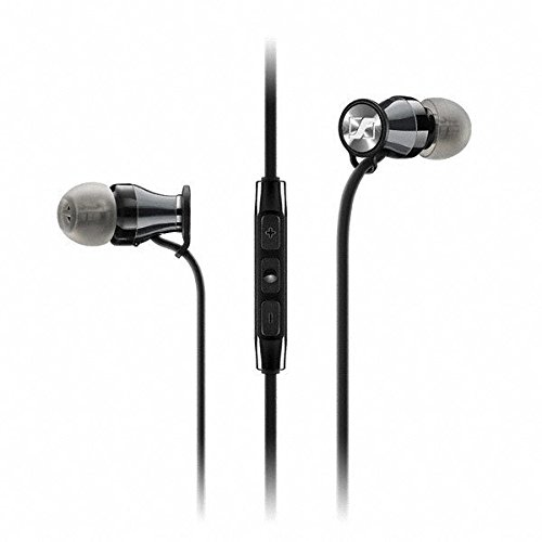 Sennheiser HD1 In-Ear Headphones (iOS version) - Black Chrome