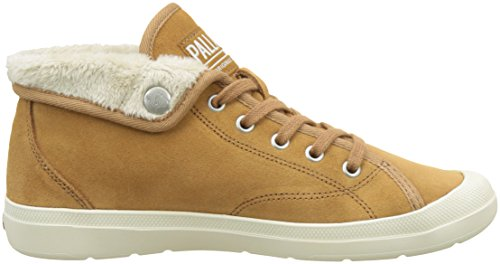 Palladium S Baskets Aventur WRM Hautes Beige W Brown Femme Sugar Marron ZgZwq