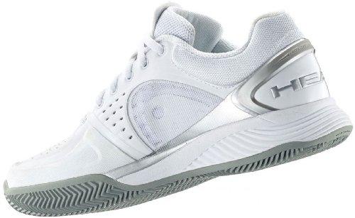 tennis Head grey 38 Clay 5 shoes EU Sprint silver white UK women s Pro xX6wX8qr