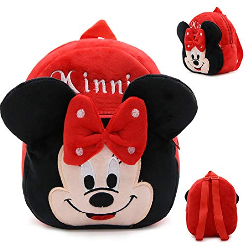Cute Toddler Plush backpack for 1-3 yrs Character: Minnie Mouse