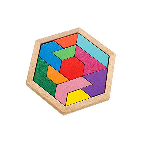 Pkjskh Tetris Puzzle Early Education Intellectual Development Building Blocks 3-4-6-8 Years Old Educational Toys Puzzle Blocks Classical Puzzle Toys for All Ages (Color : Color)