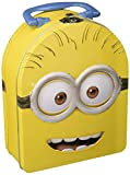 Despicable Me Minions Arch Shape Carry All Tin Box - Style May Vary, Yellow 64017