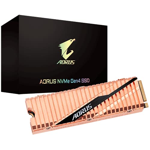 Gigabyte Aorus NVMe SSD, PCIe 4.0 M.2 type 2280-500 GB