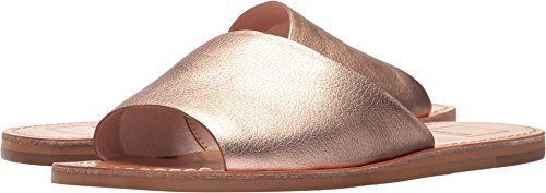 Dolce Vita Women's Cato Slide Sandal, Rose Gold Leather, 8 M US - Dolce Vita Womens Rose