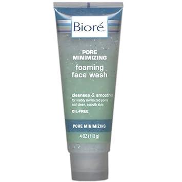 Biore Pore Minimizing Foaming Face Wash 4 Oz