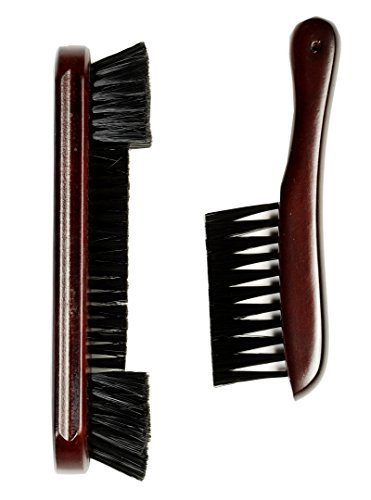 Iszy Billiards Nylon Pool Table and Rail Brush, 9-Inch, Mahogany (Billiard Brush compare prices)