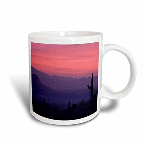 3dRose Arizona, Tucson, Avra Valley, Tortolita Mountains, Ceramic Mug, - Outlets Tucson