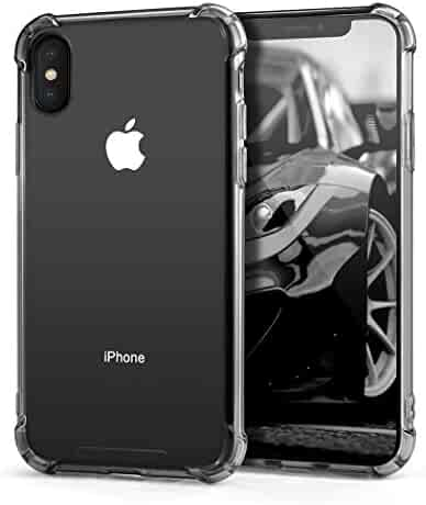 64574c1acc Besiva Phone Case Compatible iPhone X,iPhone Xs Slim Fit Premium Hybrid  Shock Absorbing &