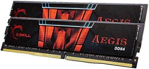 2x16GB G.Skill 32GB DDR4 Aegis 3000MHz PC4-24000 CL16 Dual Channel Memory Kit