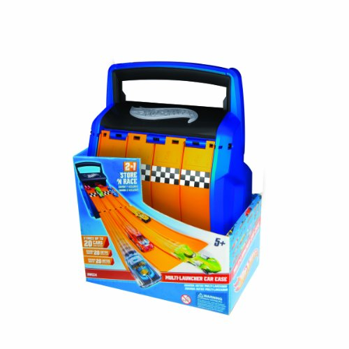Amazon Com Hot Wheels Racing Battle Case Toys Games