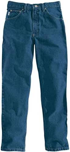 Carhartt Men's 101512 Relaxed Fit Five Pocket Tapered Leg Jean