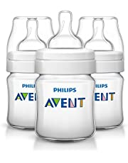 Philips Avent Anti-Colic Baby Bottles 4oz, 3pk, SCF560/37