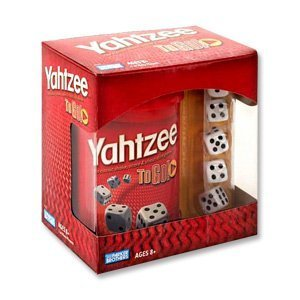 Hasbro Yahtzee to Go Travel Game for sale  Delivered anywhere in USA