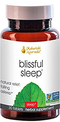 Blissful Sleep - Natural Sleep Aid | 30 Herbal Tablets | Fall Asleep Naturally - No Side Effects