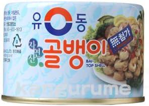 韓グルメ-KANGURUME ツブ貝缶詰「小」140g