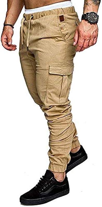 Emmay Herbst Hosen Männer Jeans Lose Trend Wesentlich Gerade Stretch Jeans Männer Hohe Taille Jugend Beam Hose Männer Mode Vintage Casual Hosen (Color : Z-Khaki, Einheitsgröße : 40W): Odzież