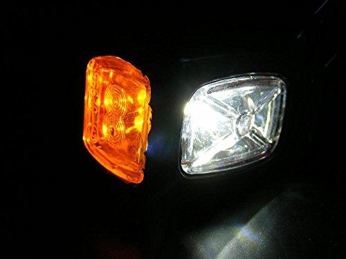 Luces Laterales de marcador de contorno de recuperaci/ón de 2/x 24/V Cami/ón Chasis de caravana autocaravana Naranja Blanco Rojo