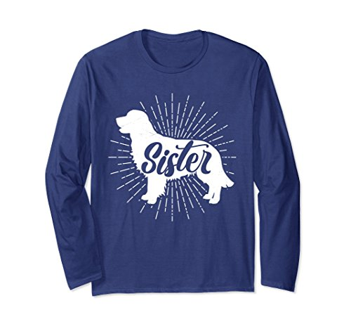 Unisex Sister Dog Vintage T-Shirt Family Matching Pajamas Puppy XL: (Matching Costumes For Dog And Owner)