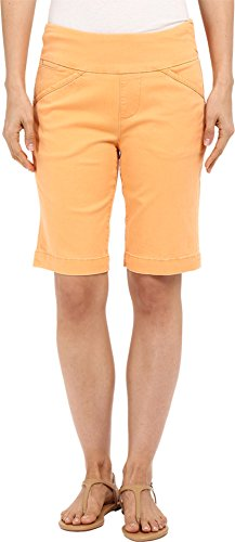 - Jag Jeans Women's Ainsley Bermuda Classic Fit Bay Twill Citrus Orange 0 11