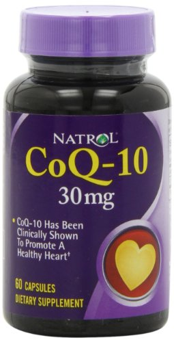 Natrol Coenzyme Q-10, 30mg Capsules, 60-Count
