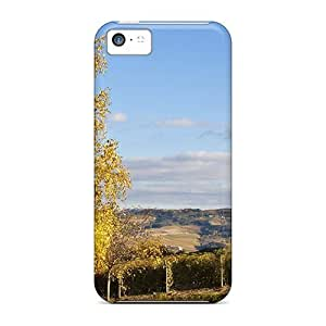 meilz aiaiDurable Cases For The iphone 4/4s- Eco-friendly Retail Packaging(field With Tree And House)meilz aiai
