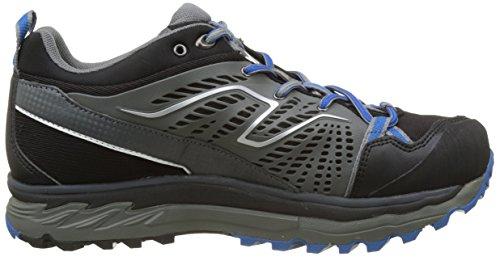 MILLET Fast Alpine GTX, Scarpe da Arrampicata Basse Unisex-Adulto Nero (Black/Blue)