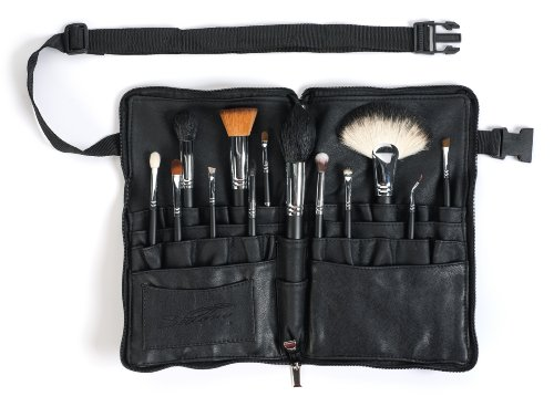 Sedona Lace Vortex Professional Makeup Brushes with Zipper Belt by Sedona Lace