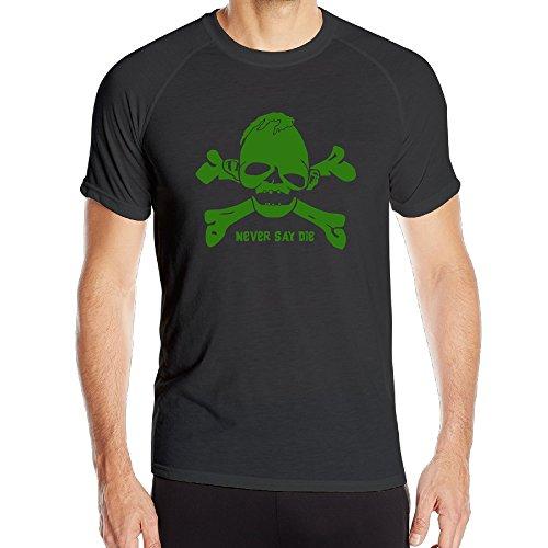 2 Costumes Borderlands Zero (BENZ47' Men's Sportwear Goonies Never Say Die Fishing Shirt Black)