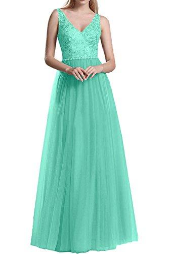 Prinzess Abendkleider V Tuell Partykleider Linie Gruen La Jaeger Marie Rosa Spitze A Rock Promkleider Langes Braut Ausschnitt P0SRqwxU