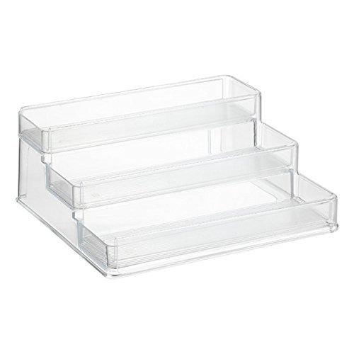 InterDesign Linus Expandable Cabinet Organizer, Clear 62239EU