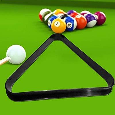 Billiards Tripod Ball Rack Billiards Ordinary Tripod//Billiard Ball Pen Box//English Snooker Black Eight 16 Color Triangle Frame Cuttey Mini Tabletop Ball Billiards