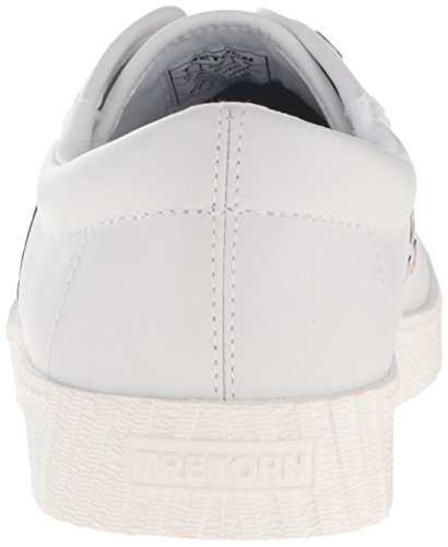 Tretorn Vrouwen Nylite2 Plus Fashion Sneaker Sneeuw Wit / Goud