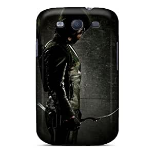 Awesome Design Green Arrow Hard Case Cover For Galaxy S3