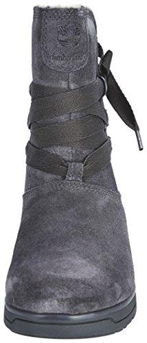 scarpe waterproof TIMBERLAND grigio grey on leighland pull Grigio donna scarponcini A17N8 BRBqzY