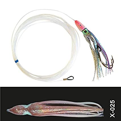 Hart Rigged Octopus Skirt Lure Trolling Rigs