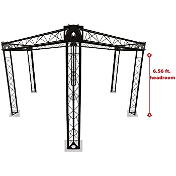 Amazon com: Trade Show Booth, Trusses DJ Stage 7' x 5' Metal
