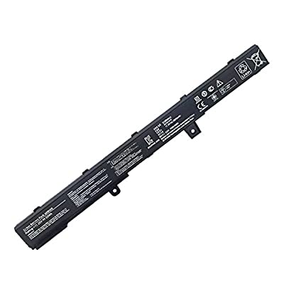 Fully New Replacement A31N1319 Laptop Battery For ASUS X451M X451MA X551M X551MA X451C X451CA X451CA X551CA X451C X551C X551,P/N: A41N1308 0B110-00250100 D550MA-DS011CA-DH21 - 11.25V 33Wh by Fully