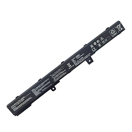 Fully New Replacement A31N1319 Laptop Battery For ASUS X451M X451MA X551M X551MA X451C X451CA X451CA X551CA X451C X551C X551,P/N: A41N1308 0B110-00250100 D550MA-DS011CA-DH21 - 11.25V 33Wh