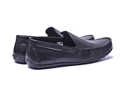 Summer Flat Black Light VG4947 Slip Sole Mens Leather Loafers Shoes On Comfort Vogar xgqFIawF