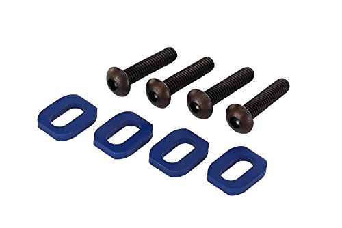 - Traxxas 7759 Blue-Anodized Aluminum Motor Mount Washers, 4x18mm (set of four)
