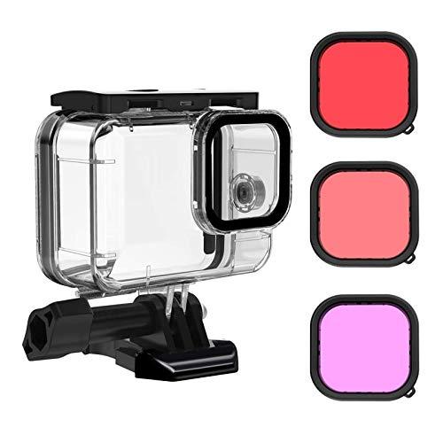Caja Waterproof y 3 filtros de buceo para Gopro Hero 9 Black