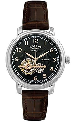 Rotary GS90500-19 Mens Les Originales Jura Automatic Watch (Swiss Mechanical Automatic)