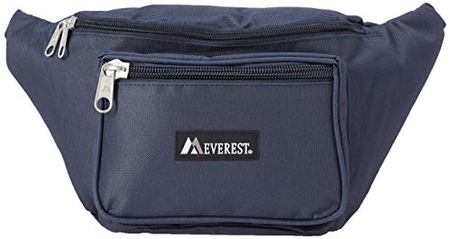 Everest 044XLD Extra Large Fanny Pack - Navy Free Shipping